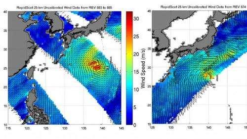 NASA eyes Post-Tropical Storm Nuri's winds, now to affect Alaska
