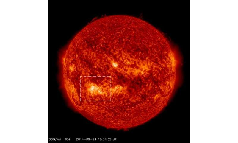 NASA-funded rocket has six minutes to study solar heating