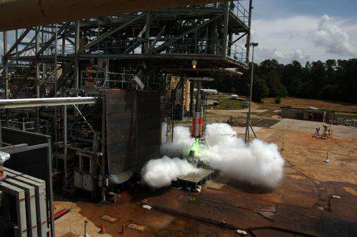 NASA turns down the volume on rocket noise through SLS scale model acoustic testing