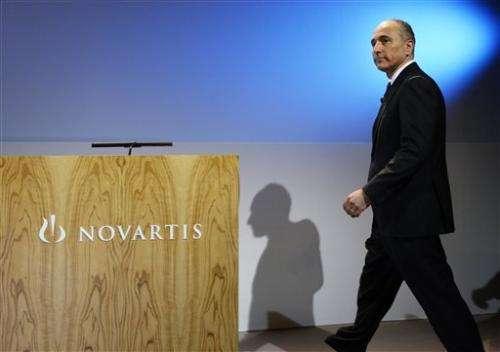 New drug sales help boost Novartis Q1 profit (Update)