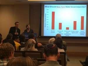 Polarization in New York State over fracking