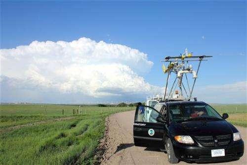 Q&A: Drones might help show how tornados form