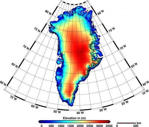 Record decline of ice sheets