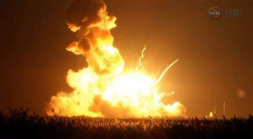 Russian rocket engines suspected in launch blast
