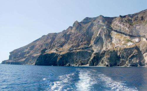 Shattering past of the 'island of glass'