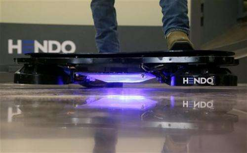 Startup working to turn hoverboards into reality