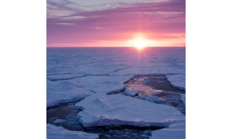 Study suggests large waves may have bigger role in breaking up polar sea ice than thought