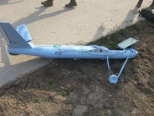 Suspected NKorean drones crude, reflect new threat