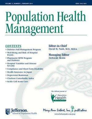 Will health care reform require new population health management strategies?