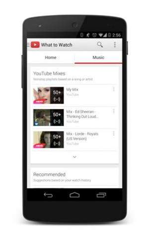 YouTube adds subscription service to music mix