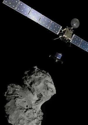 Cosmic 1st: European spacecraft lands on comet