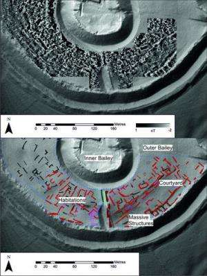 Archaeologists reveal layout of medieval city at Old Sarum