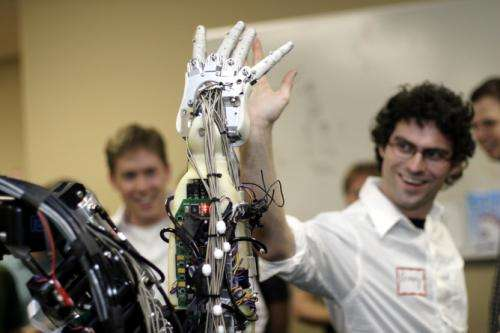 Scientists developing electronic skin