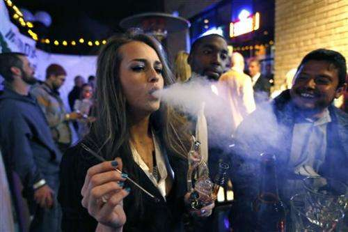 1st legal recreational pot industry opens in US