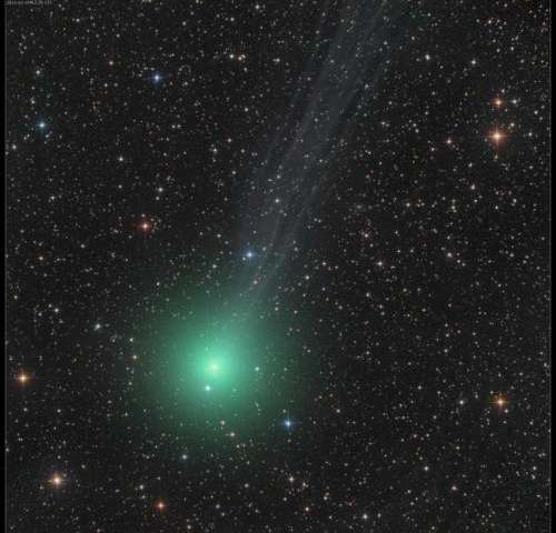 A Christmas comet to be seen from dark skies