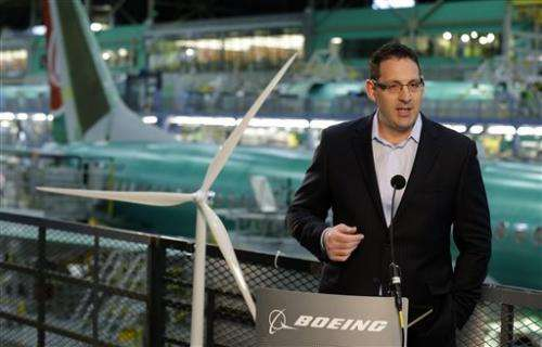 Boeing 737 factory to move to clean energy