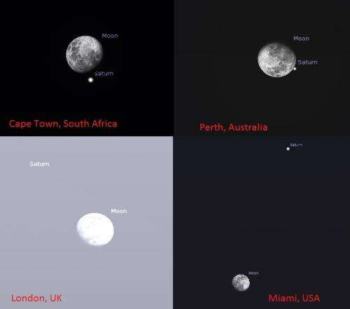 Catch the dramatic June 10th occultation of Saturn by the moon