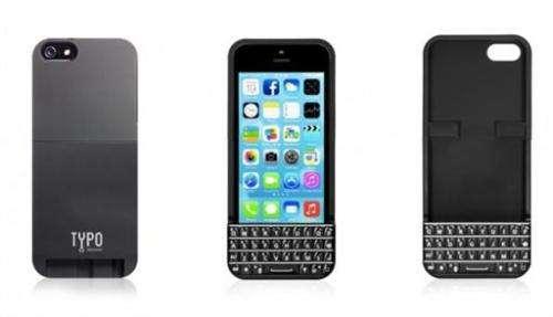 Gadget Watch: Case makes iPhone a BlackBerry clone
