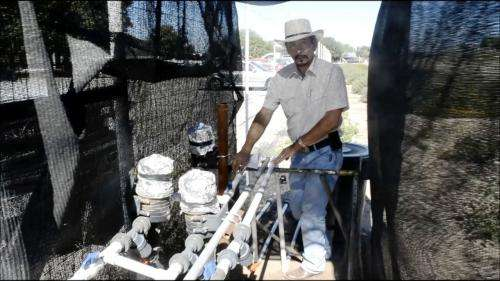 Gray water trial will help determine feasibility for landscape irrigation