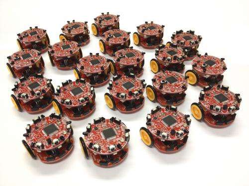 'Honeybee' robots replicate swarm behaviour