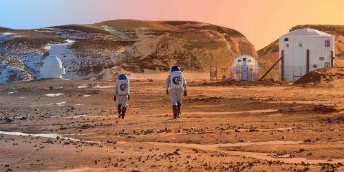 How strong is the gravity on Mars?