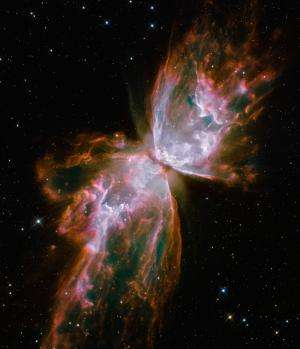 Image: Hubble captures the Butterfly Nebula