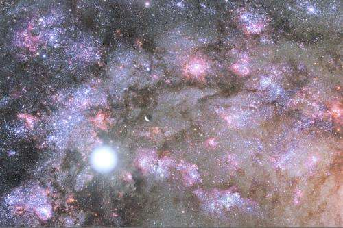 Keck observatory gives astronomers first glimpse of monster galaxy formation