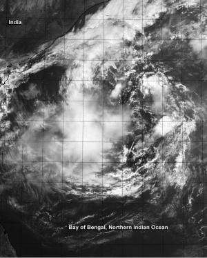 NASA-NOAA's Suomi NPP satellite sees Tropical Cyclone 05B headed to India