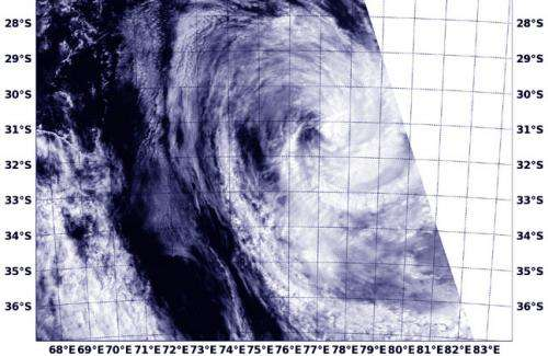 NASA sees Tropical Cyclone Colin's final bow