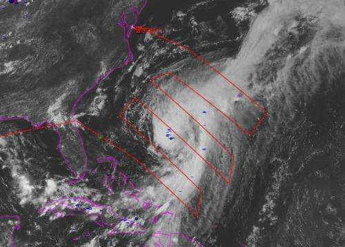 NASA's HS3 mission covers transition of Hurricane Cristobal