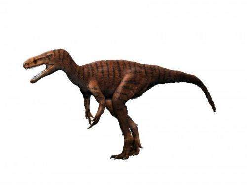 New dino-book highlights Britain's 'Three-rex'