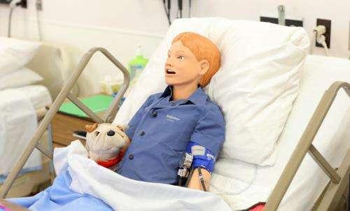 Nursing's new high-tech trainers