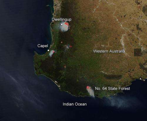 Prescribed burns in Western Australia