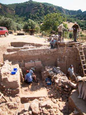 Sardis dig yields enigmatic trove: Ritual egg in a pot