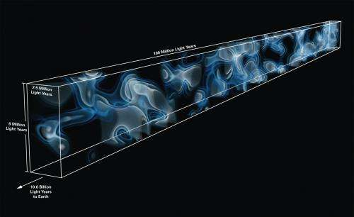 Scientists build first map of hidden universe