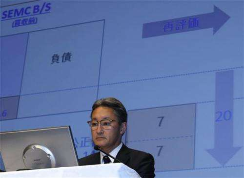 Sony's quarterly loss balloons on mobile woes