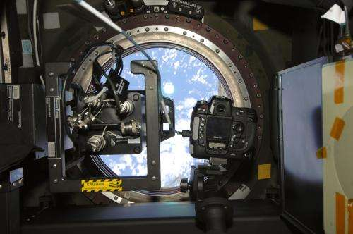 Students see world from station crew's point of view