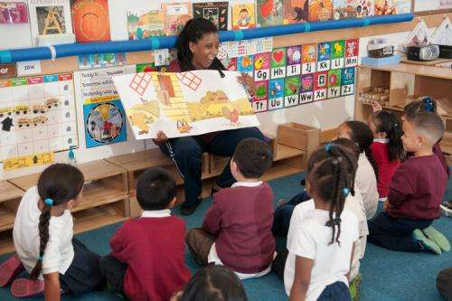 'Tips-by-text' program helps boost literacy in preschoolers, study finds