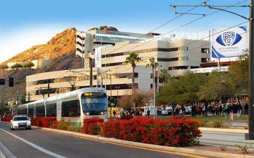 Transit-oriented development helps cities ease off the gas