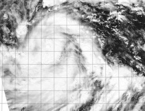 Tropical Depression Nuri now haunting the western Pacific Ocean