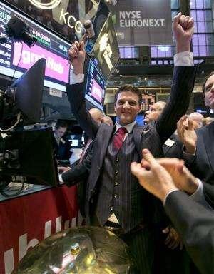 Wall Street orders up GrubHub in market debut