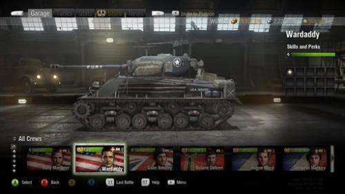 'World of Tanks' game finds ally in 'Fury' film