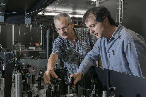 Researchers make temporary, fundamental change to a material's properties