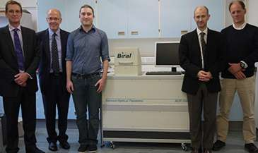 Research team develops aerosol optical tweezers