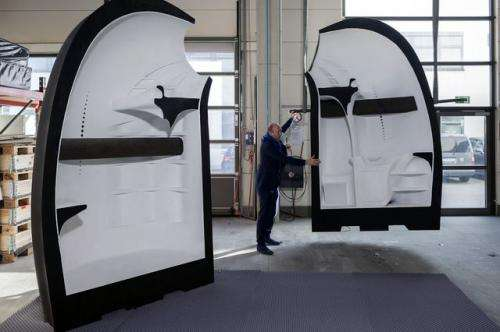 Architecture and urban design students helped create a fully functional microhouse built using 3-D printing technology