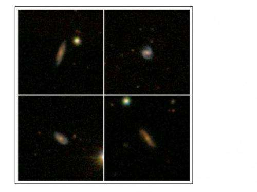 Astronomers detect atomic hydrogen emission in galaxies at record breaking distances