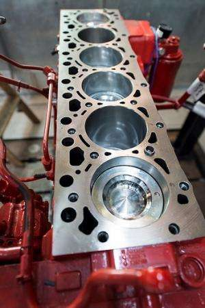 Best-ever efficiency points to clean, green gas-diesel engine