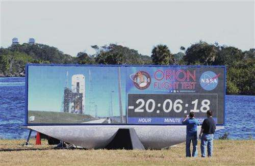 Launch of new Orion spaceship has NASA flying high