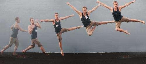 Motion capture examines dance techniques