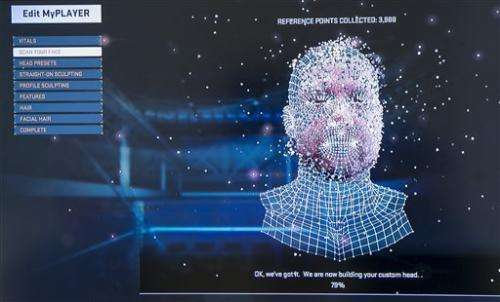 'NBA 2K15' drafts 3D face mapping for latest game